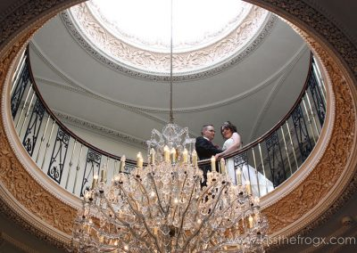 Entrance Hall chandelier